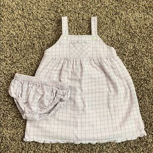 Janie and Jack Toddler Girls Flannel Dress